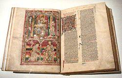 Histoire Naturelle Pline l Ancien mid 12th century Abbaye de Saint Vincent Le Mans France.jpg