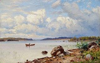 Lakeside Landscape from Tavastia