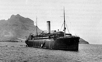 SS Laurentic (1908) - The Laurentic during her war service