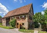 Hohenloher Freilandmuseum - Baugruppe Hohenloher Dorf - Seldnerhaus aus Schwarzenweiler - Ansicht von SO.jpg
