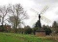 Hollow post windpump in Starston - geograph.org.uk - 1592947.jpg