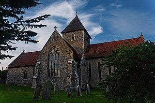 Adisham village in the United Kingdom