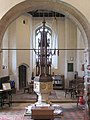 Holy Trinity, Stow Bardolph, Norfolk - Font - geograph.org.uk - 315492.jpg