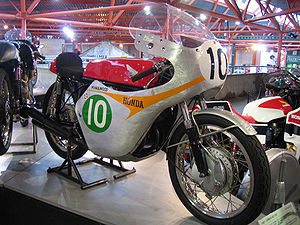 Mike Hailwood - Honda RC162 as ridden by Hailwood in 1961