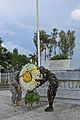 Honoring the past, U.S. and Philippines hold wreath-laying ceremony to recognize POWs at Pangatian War Memorial 140509-M-SD123-498.jpg