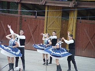 Culture of Slovakia - Slovak folk dance