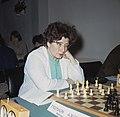 Hoogovenschaaktoernooi te Beverwijk mevrouw Heemskerk , Nederland, Bestanddeelnr 254-7974.jpg