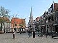 Hoorn, kerk1 in straatzicht vanaf de Roode Steen foto2 2011-04-17 09.58.JPG