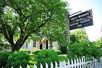 Hoover Minthorn house sign.JPG