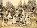 Hop pickers, possibly the Puyallup Valley, unidentified farm, Washington, ca 1889 (BOYD+BRAAS 76).jpg