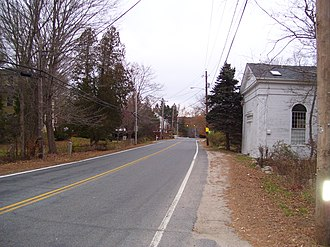 Hopkinton City Historic District - Hopkinton City Historic District in 2008
