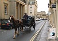 Horse drawn taxi, Bath - geograph.org.uk - 243439.jpg