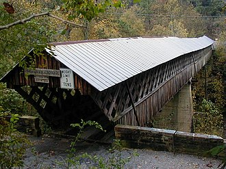 National Register of Historic Places listings in Alabama - Horton Mill Covered Bridge in Blount County