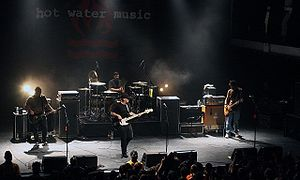 Hot Water Music - Image: Hot Water Music 2008