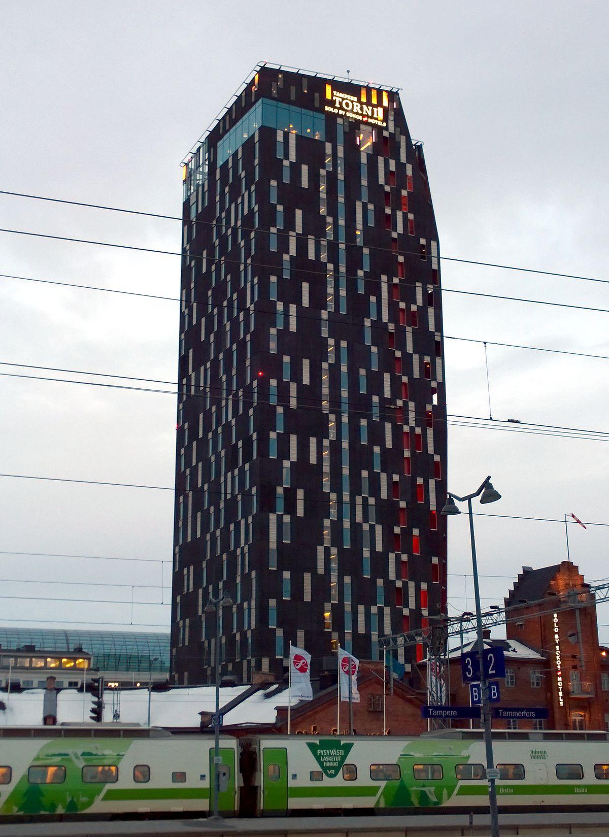 Hotel Torni Tampere Wikipedia