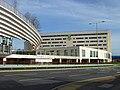 Hotel and footbridge, Winnersh - geograph.org.uk - 2334525.jpg