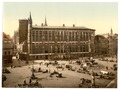 Hotel de Ville and market place, Aachen, the Rhine, Germany-LCCN2002714040.tif