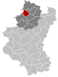 Hotton Luxembourg Belgium Map.png