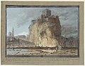 Houel, Le promontoire et une partie de la ville de Castel d'Iaci.jpg
