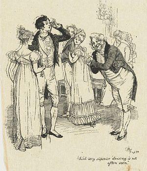 Hugh Thomson - Illustration for Pride and Prejudice, 1894