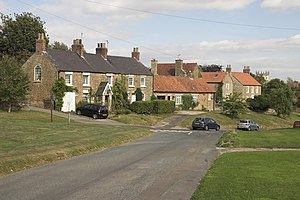 Terrington - Image: Houses at Terrington geograph.org.uk 558005