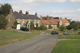 Terrington village in United Kingdom