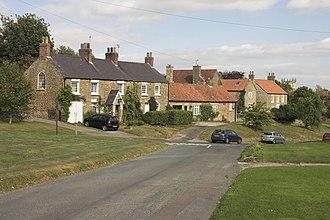 Terrington - Image: Houses at Terrington geograph.org.uk 558005