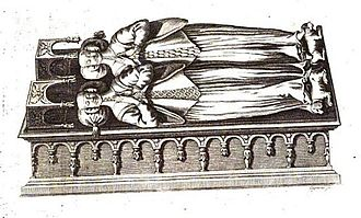 Joan of Savoy - Joan and her mother's tomb in église des Cordeliers