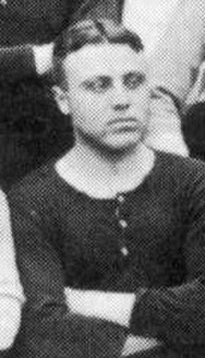 Hugh Dolby - Dolby while with Brentford in 1912.