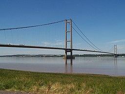 Humber bridge, UK
