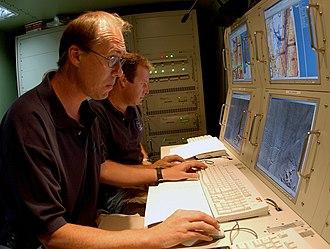 IAI Heron - Controlling the UAV for experimental purposes at the Fallon Naval Air Station