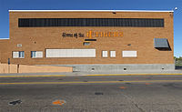 The Civic Auditorium was concurrently constructed by the city in 1952, adjacent to the then-new Idaho Falls High School, the school newspaper is the Ti