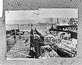 IJ-tunnel in aanbouw, Caisson V aan de zuidelijke zijde van het tunnelproject, Bestanddeelnr 918-2732.jpg