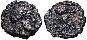 Archeptolis - Image: IONIA, Magnesia ad Maeandrum. Archepolis helmetted. Circa 459 BC