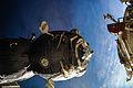 ISS-42 Soyuz TMA-13M undocks from Rassvet.jpg