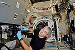 ISS-53 Open airlock inside the Kibo module for satellite starting.jpg