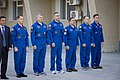 ISS 33-34 prime and backup crewmembers at ceremony.jpg