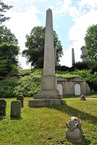 Charlotte Cushman - Mount Auburn Cemetery, Cambridge, MA