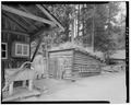Ice house, viewing southwest. - Holzwarth Trout Lodge, Ice House, Trail Ridge Road, Grand Lake, Grand County, CO HABS COLO,25-GRLK.V,1D-1.tif