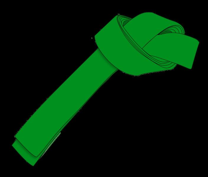 کمربند سبز کاراته
