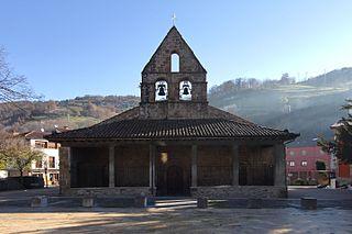 Iglesia de San Nicolás (Villoria) Church in Asturias, Spain