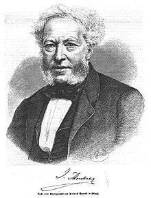 Ignaz Moscheles. Grafik von Hermann Scherenberg. (Quelle: Wikimedia)