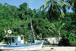 Barco de pesca utilizado na pesca de cerco