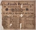Illustrated family record (Fraktur) found in Revolutionary War Pension and Bounty-Land-Warrant Application File... - NARA - 300072.jpg