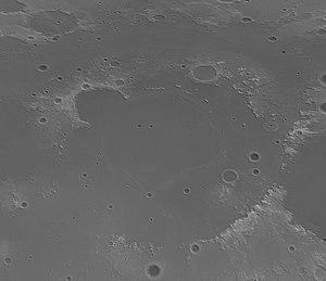 Mare Imbrium - Image: Imbrium basin topo