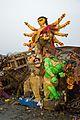 Immersed Durga Idol Remains - Baja Kadamtala Ghat - Kolkata 2015-10-22 6613.JPG
