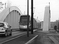 Inauguration de la branche vers Vieux-Condé de la ligne B du tramway de Valenciennes le 13 décembre 2013 (015).JPG
