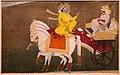 India, krishna e arjuna, 1800.jpg