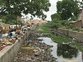 India - Sights & Culture - garbage-filled canal (2832914746).jpg