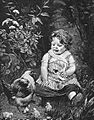 Infant with Chickens Drawing.jpg